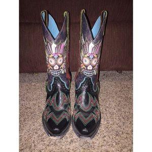 RARE Ariat Gypsy Sugar Soule Cowboy Boots